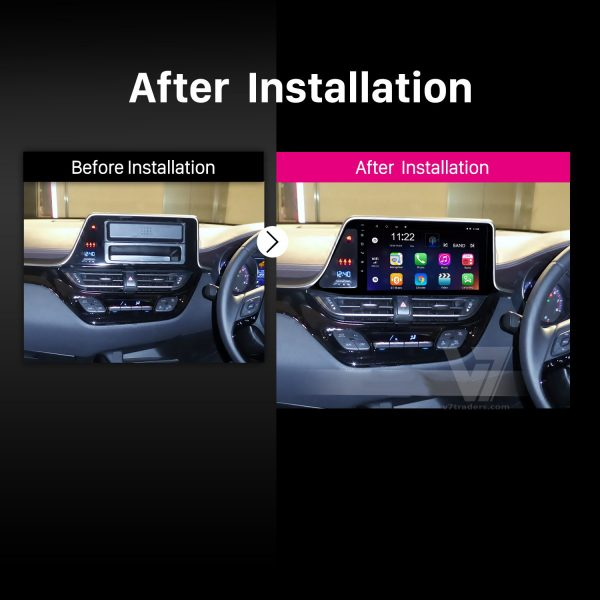 Toyota CHR Android Navigation 10 inch 2