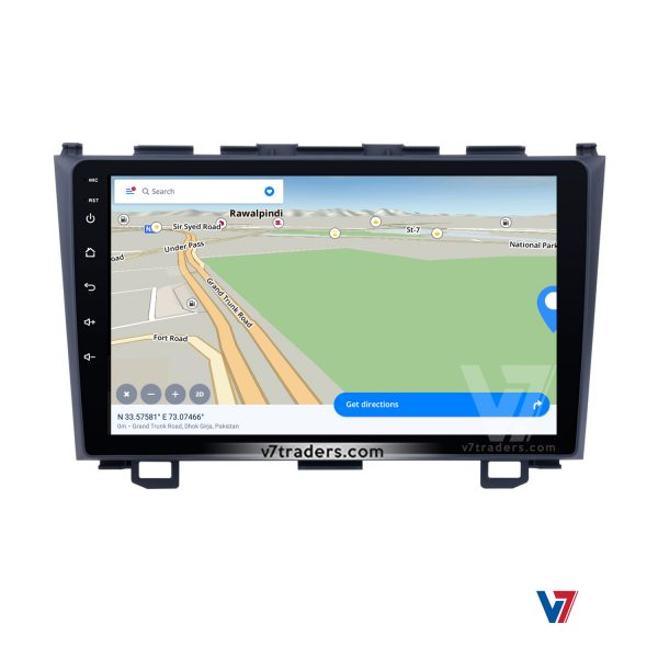 "Honda CRV 2007-11 Android Navigation 10"" Screen 3"
