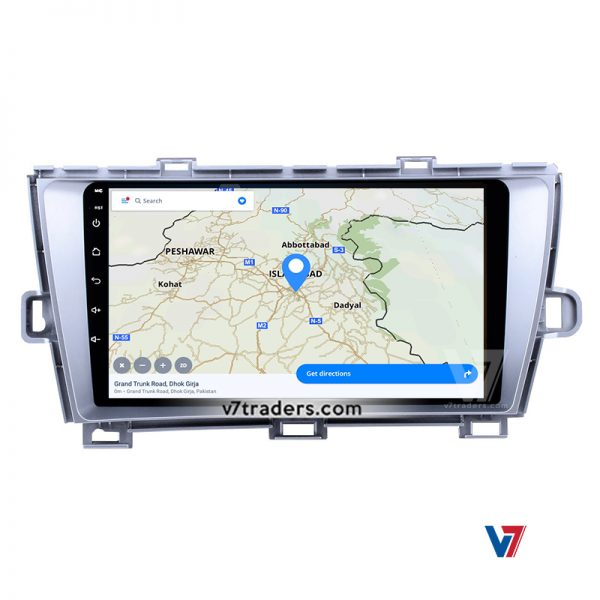 "Toyota Prius Android Navigation 10/11"" Screen (Silver) 5"
