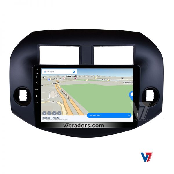 "Toyota Rav4 2007-11 Android Navigation 10/11"" Screen 4"