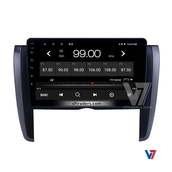 """Toyota Axio 2013-19 10"""" Android Navigation 6"""