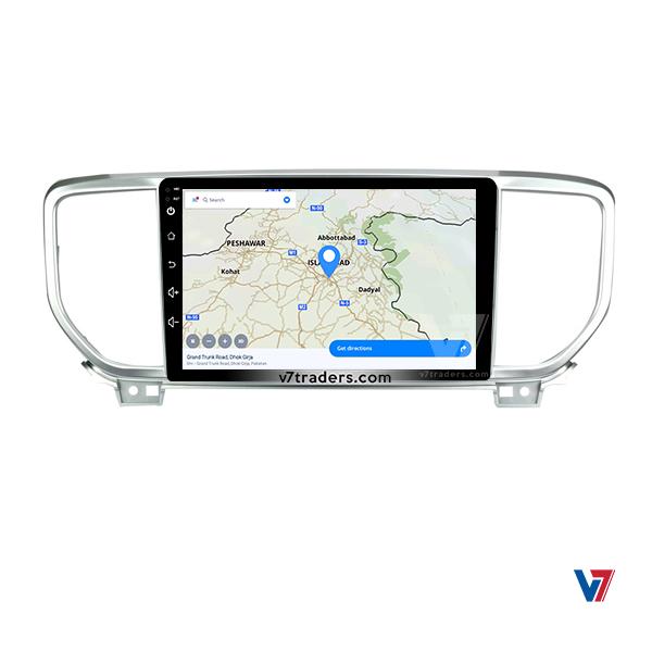 KIA Sportage 2018-20 Android Navigation 6