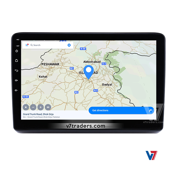 Honda Vezel Android Navigation 11 inch Screen 4