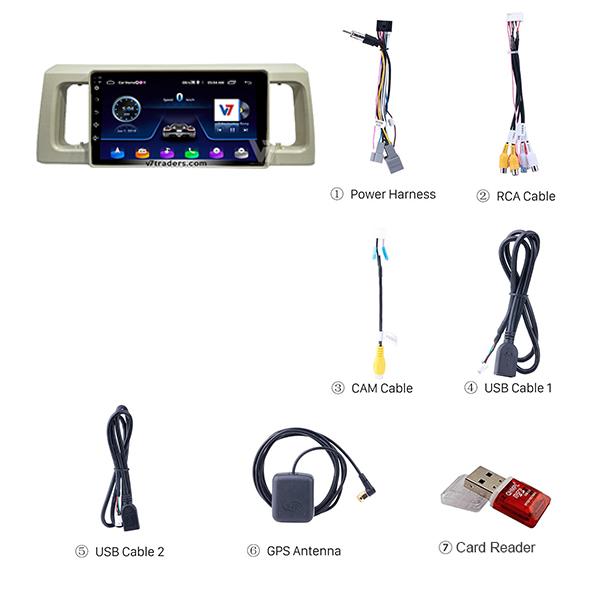 Suzuki Alto 2019 10 inch Android Navigation 2