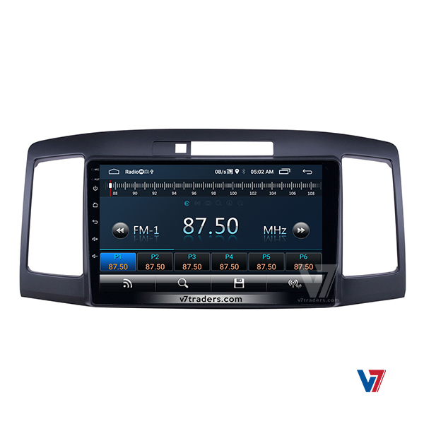 Toyota Premio 2001-07 Android Navigation 4