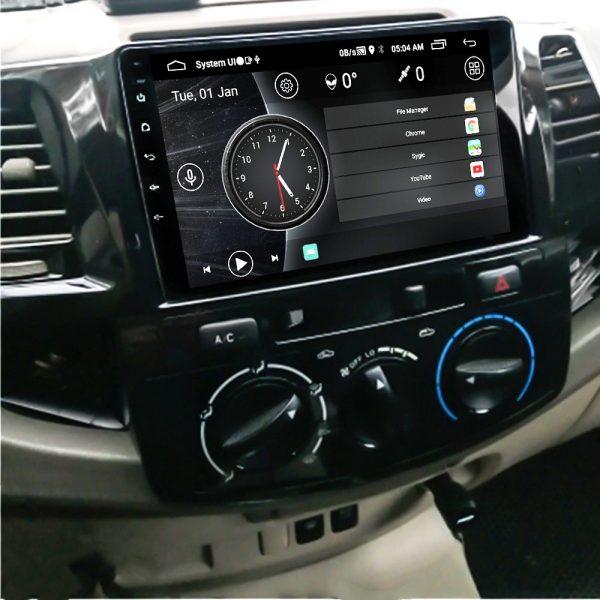 """Toyota Hilux Vigo 2005-16 Navigation 10/11"""" Screen 2"""