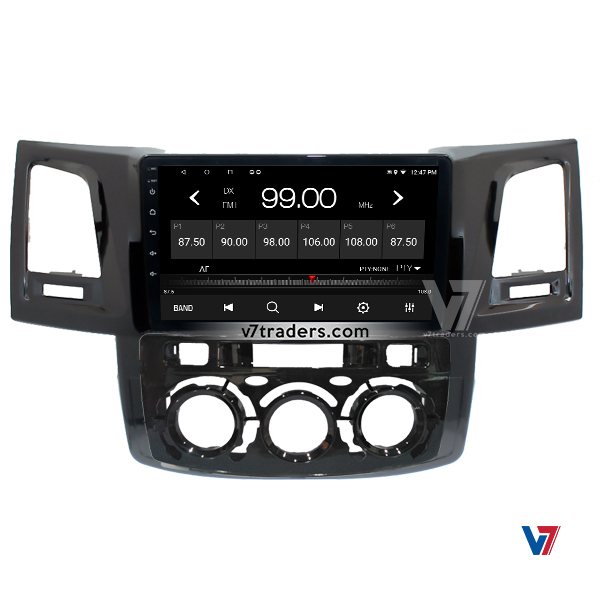 """Toyota Hilux Vigo 2005-16 Navigation 10/11"""" Screen 6"""