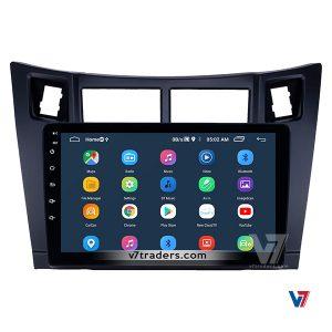 Vitz 2006-12 10 inch Android Navigation 20