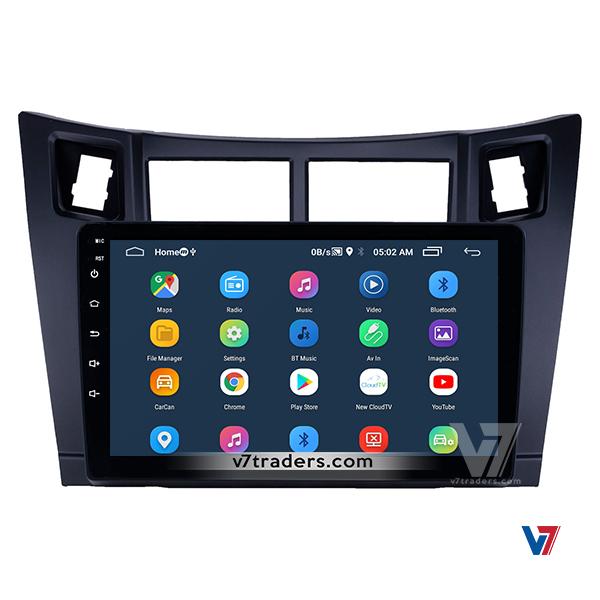 Vitz 2006-12 10 inch Android Navigation 4