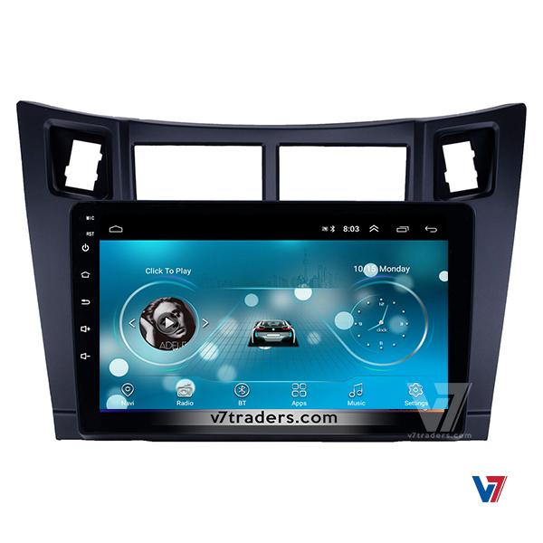 Vitz 2006-12 10 inch Android Navigation 7