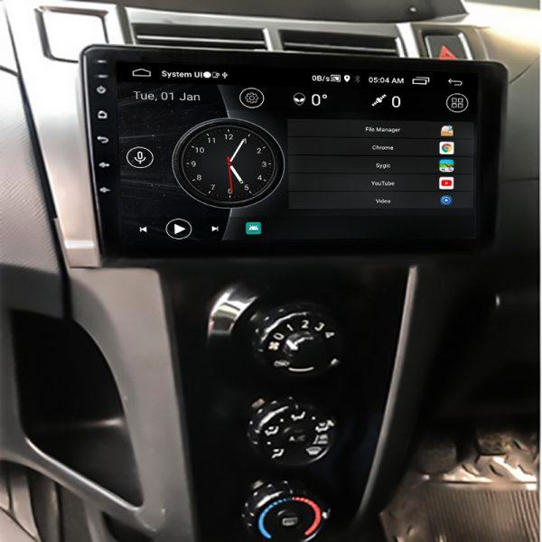 Vitz 2006-12 10 inch Android Navigation 2