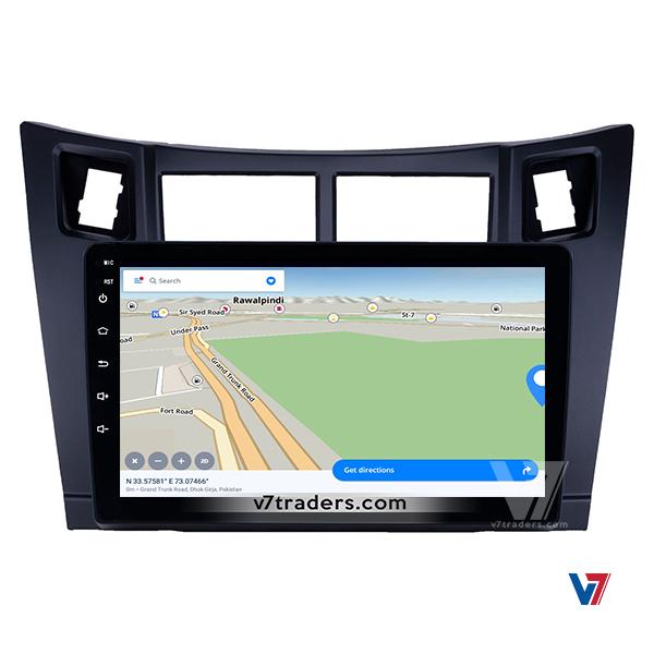 Vitz 2006-12 10 inch Android Navigation 6
