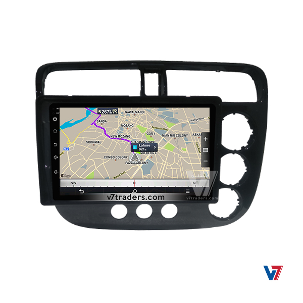"Honda Civic 2002-06 Navigation 10/11"" Screen 5"