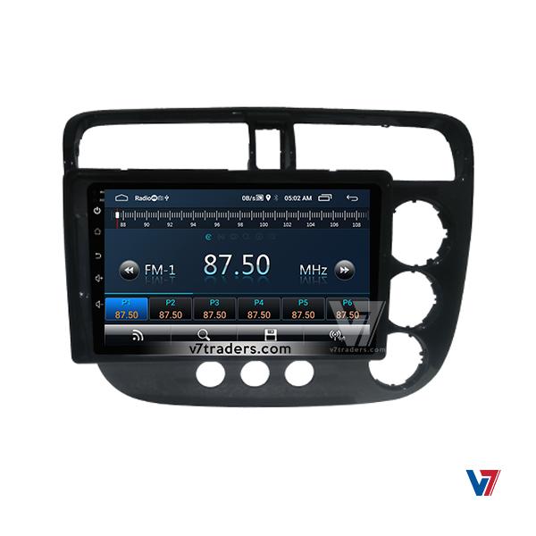 "Honda Civic 2002-06 Navigation 10/11"" Screen 4"