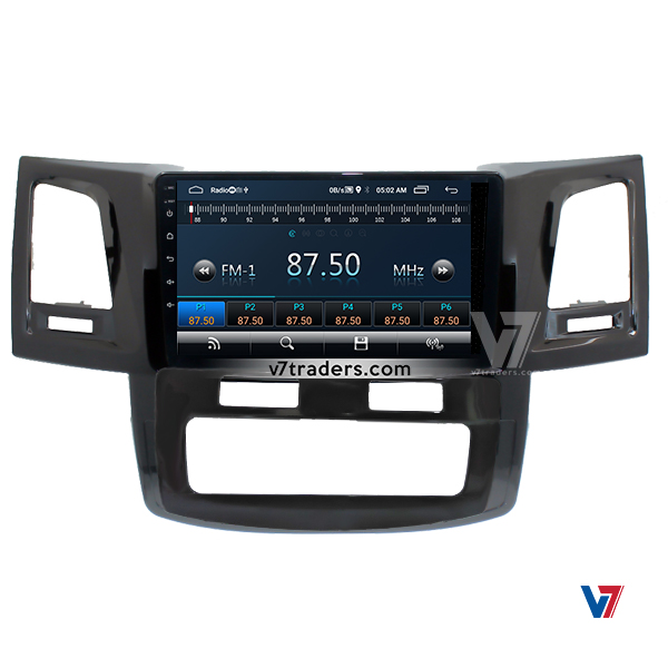 "Toyota Fortuner 2008-14 Navigation 10/11"" Screen 3"