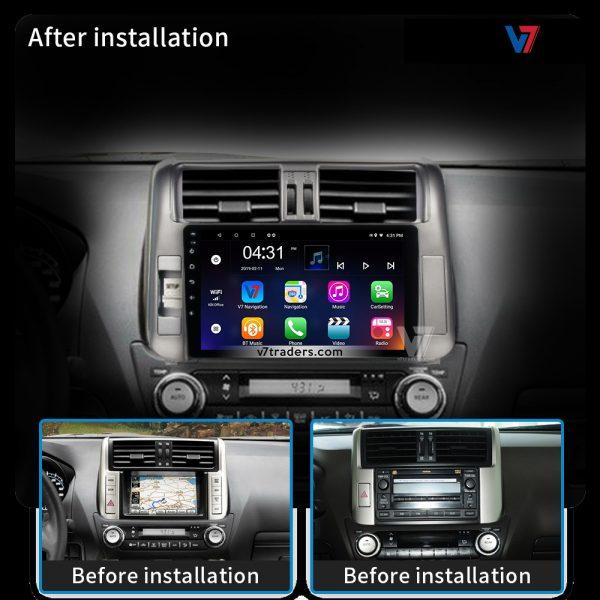 "Prado 2010-13 Android Navigation 10/11"" Screen 2"