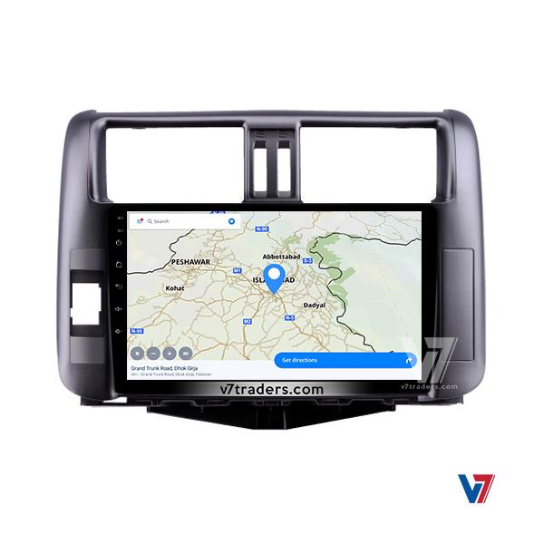 "Prado 2010-13 Android Navigation 10/11"" Screen 5"