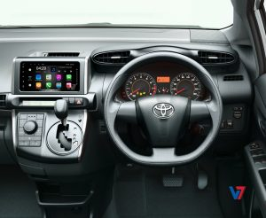 "Toyota Wish Android Navigation 7"" Screen 8"
