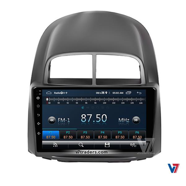 Toyota Passo 2005-10 10 inch Navigation 4