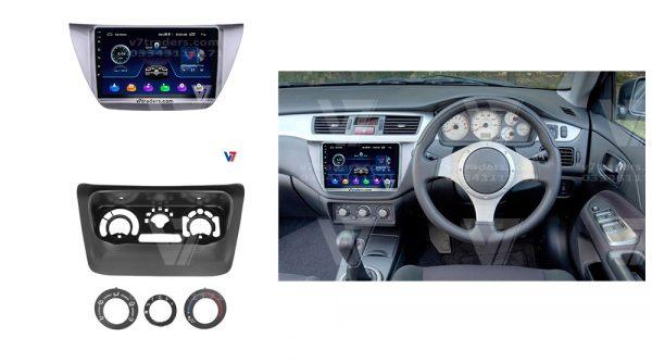 Mitsubishi Lancer 2004-08 Android Navigation 2