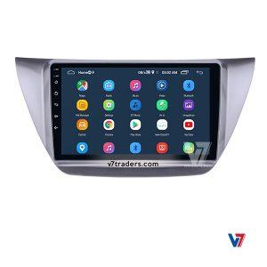 Mitsubishi Lancer 10 inch Android Navigation 8