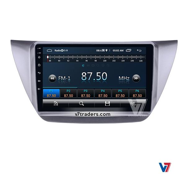Mitsubishi Lancer 10 inch Android Navigation 3