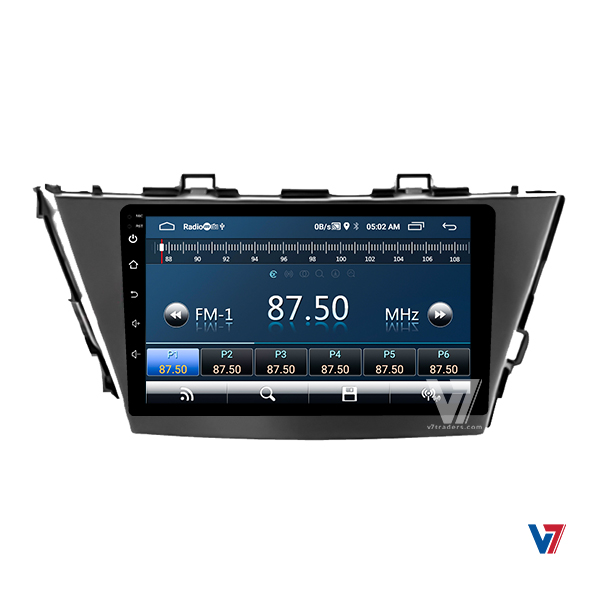 "Toyota Prius Alpha Android Navigation 10/11"" Screen 4"