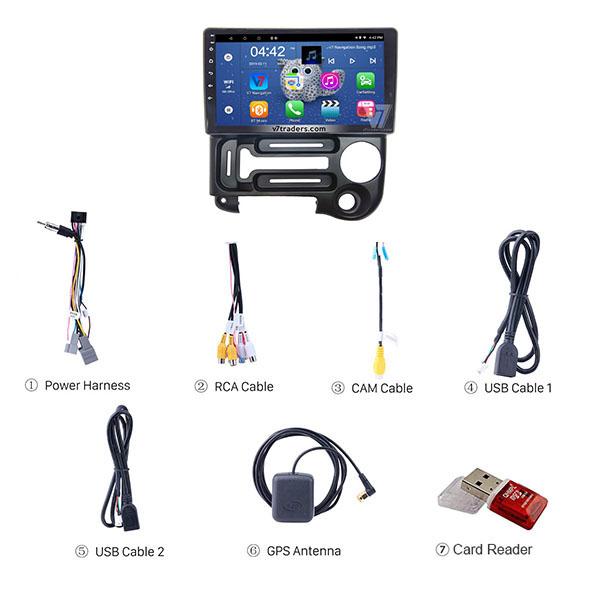 Hyundai Santro 9 inch Android Navigation 3