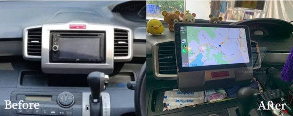 "Honda Freed Navigation 10"" Screen 2"