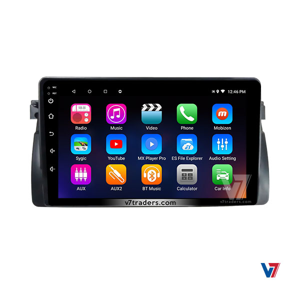 BMW E46 Android Navigation 7