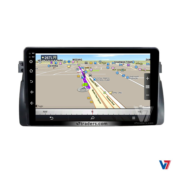 BMW E46 Android Navigation 6