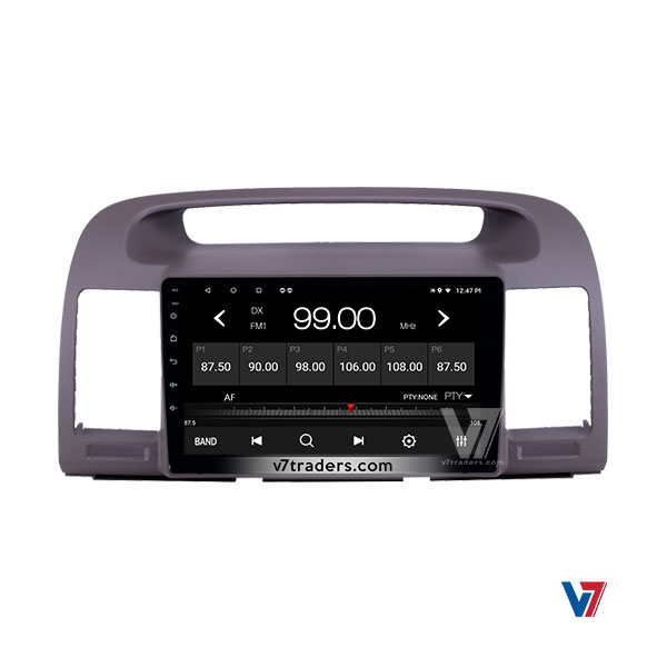 Toyota Camry 2002-06 Android Navigation 5