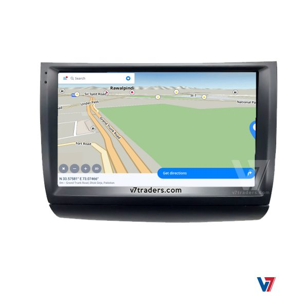 Toyota Prius 2003-09 Android Navigation 5