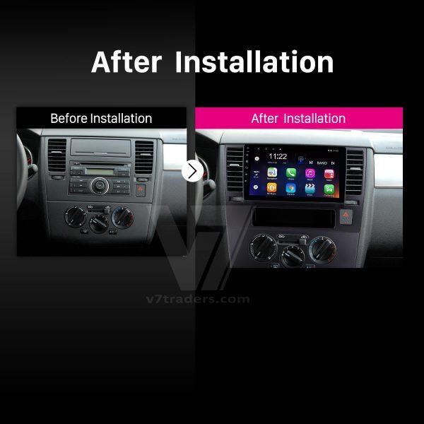 Nissan Tiida Android Navigation 2