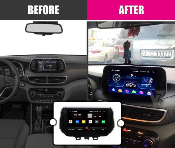 Hyundai Tucson Android Navigation 2