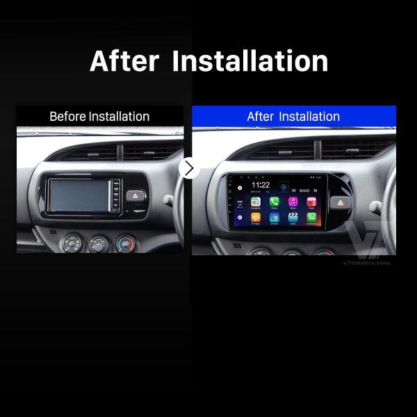 Toyota Vitz 2017-21 Android Navigation 2