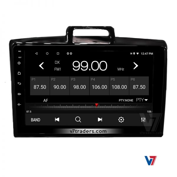 Toyota Axio Fielder Android Navigation Panel 4