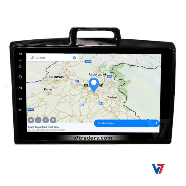 Toyota Axio Fielder Android Navigation Panel 5