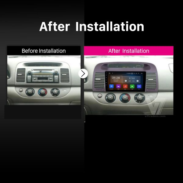 Toyota Camry 2002-06 Android Navigation 2