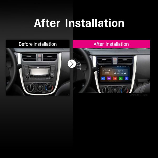 Suzuki Cultus Android Navigation 2