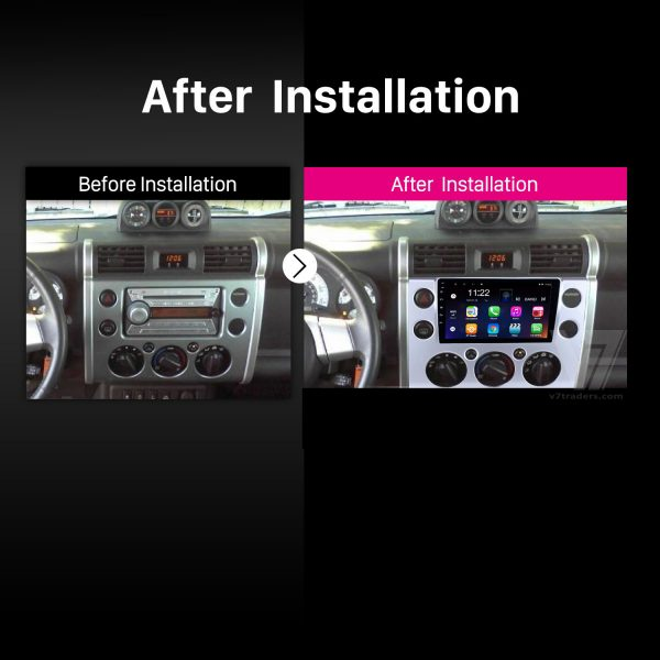 Toyota FJ Cruiser Android Navigation 2