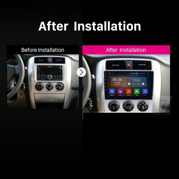 Suzuki Liana 2007-13 10 inch Android Navigation 2