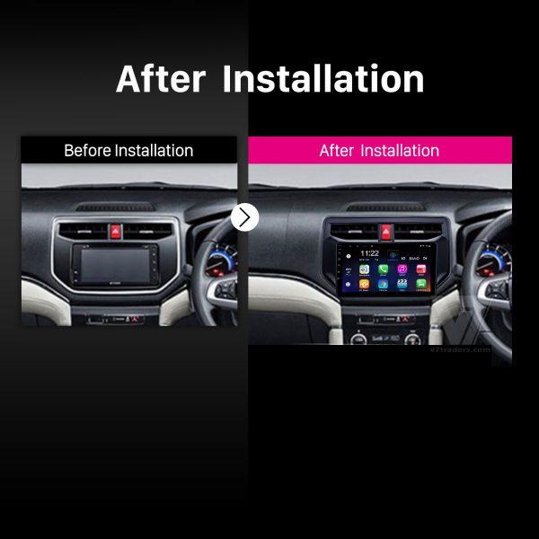 Toyota Rush Android Navigation 2