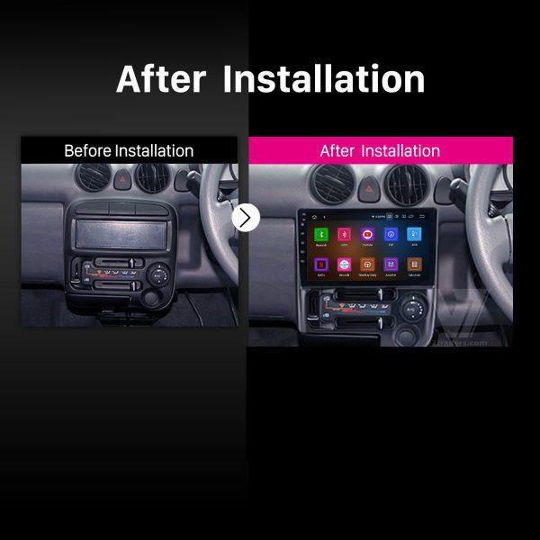 Hyundai Santro 9 inch Android Navigation 2