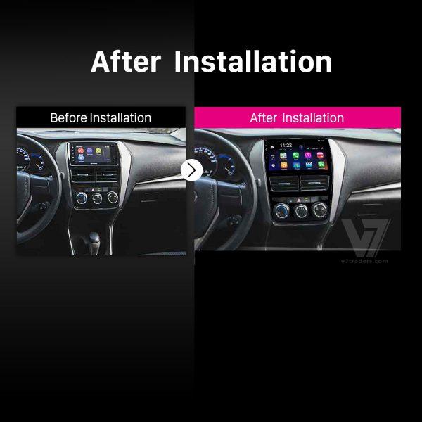 "Toyota Yaris Android Navigation 10/11"" Screen 2"