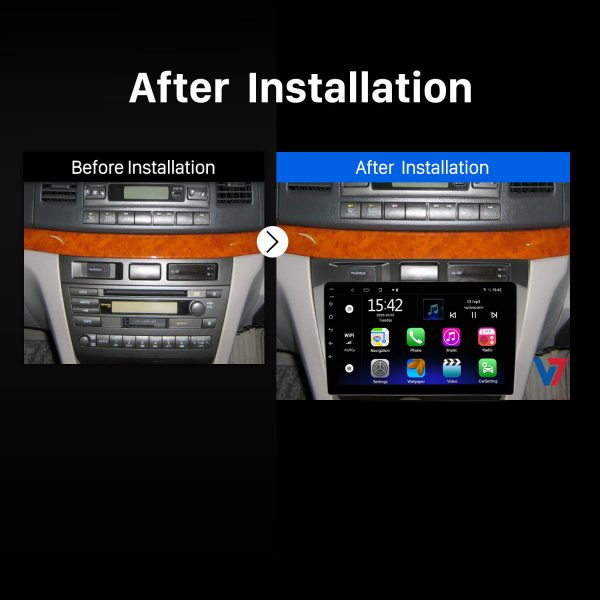 Toyota Mark II Android Navigation Panel 2